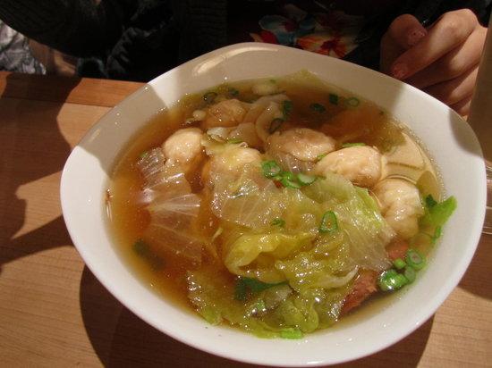 Thuan Kieu: wonton soup