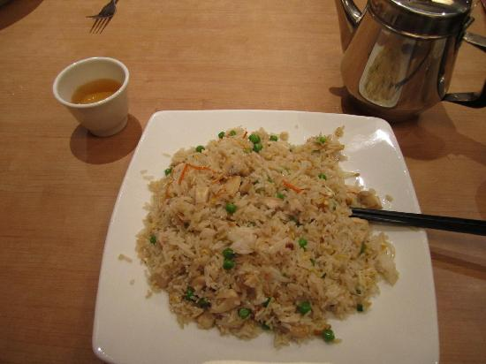 Thuan Kieu: rice with shredded chicken and mushrooms...so good !