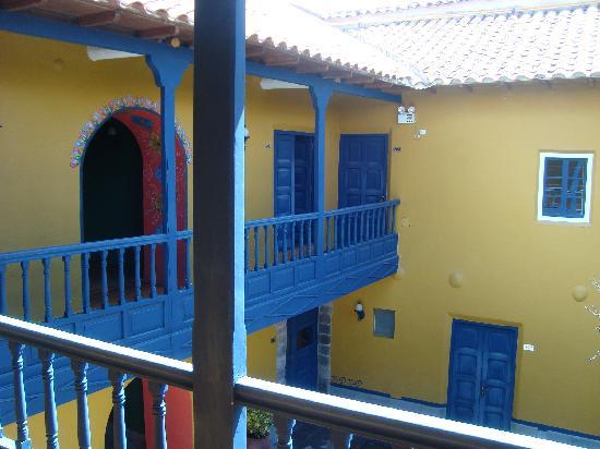 Tambo del Arriero Hotel Boutique: Vista desde la entrada de la habitación.