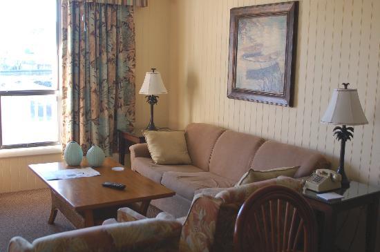 Peppertree Atlantic Beach, a Festiva Destination: typical living room suite