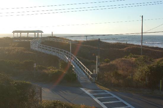 Peppertree Atlantic Beach, a Festiva Destination: walkway to beach