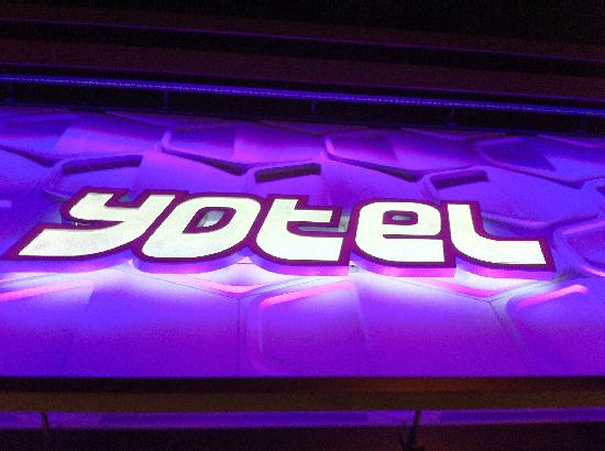 YOTEL New York at Times Square West: Hotel sign