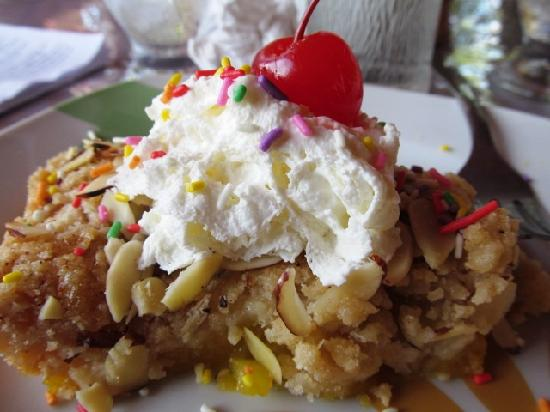 The Pickled Onion B&B & Restaurant: Amo el postre de mango