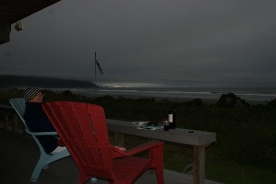 Crescent Beach Motel: From the deck