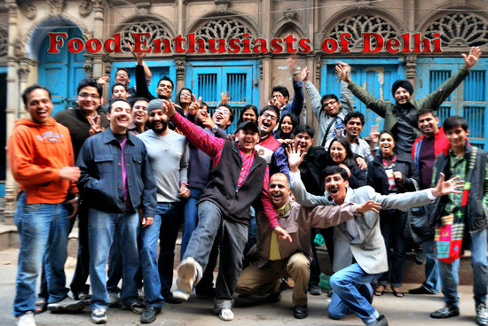 Food Enthusiasts of Delhi (FED): A FED raiding party in the lanes of walled city.