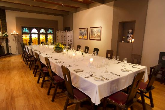 Alzburg Resort: Private Dining Functions