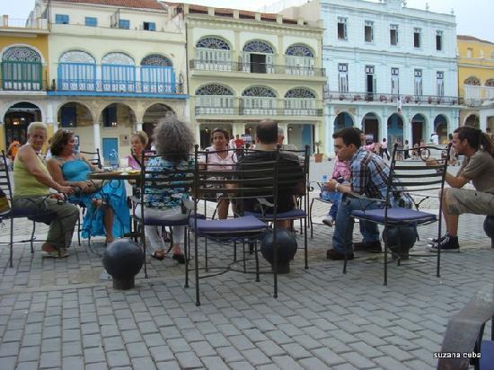 Cafe El Escorial: Cafe Escorial, Plaza Vieja, La Habana, Cuba