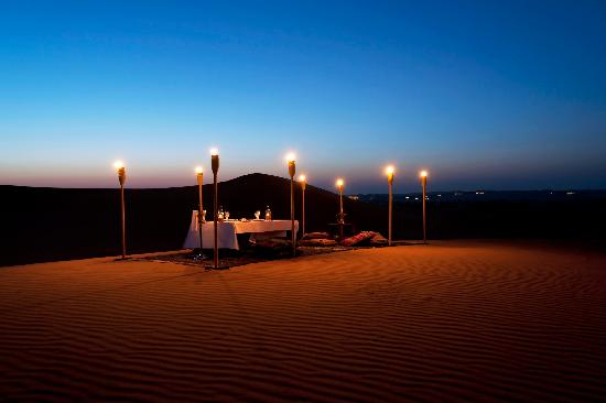 Al Maha, A Luxury Collection Desert Resort & Spa: Dune Dining