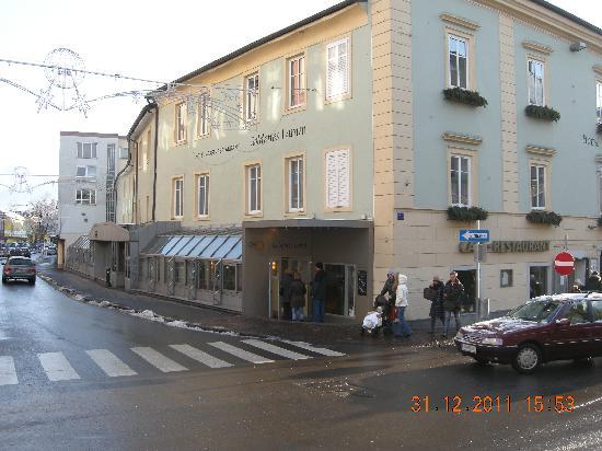 Hotel Goldenes Lamm: Esterno dell'hotel e ristorante
