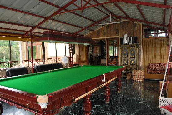 Lakkhotaa Lodge: Billiards Table