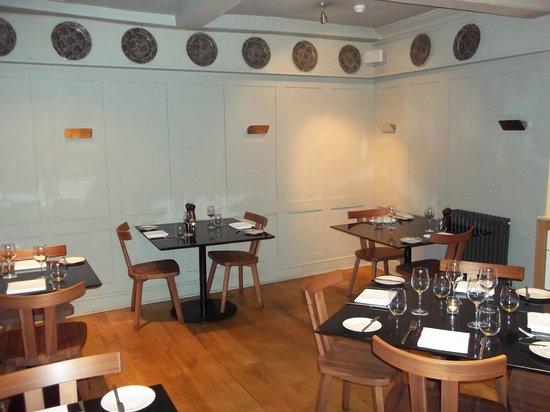 Crown at Woodbridge: The Restaurant area