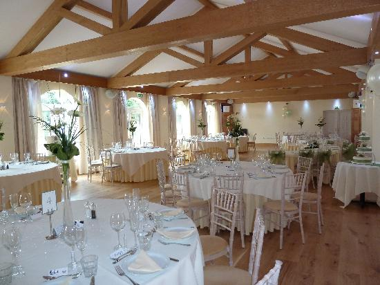 The Stanwick Hotel: Reflections ready for a wedding