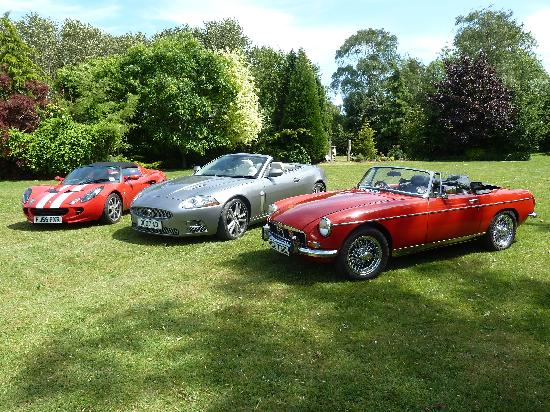 The Stanwick Hotel: Special cars