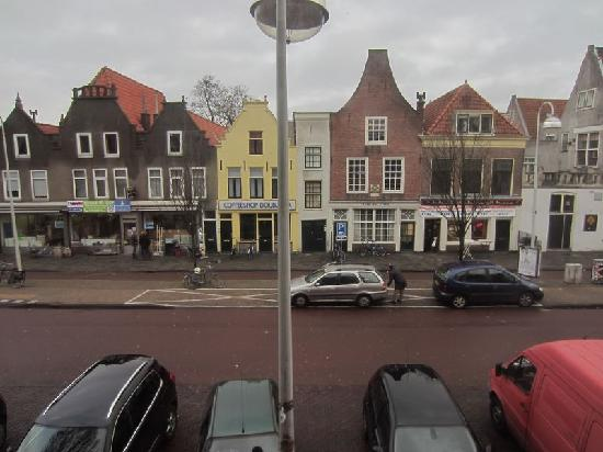 Rembrandt Hotel Leiden: View from room 401