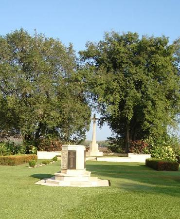 Adelaide River War Cemetery: View as you walk in