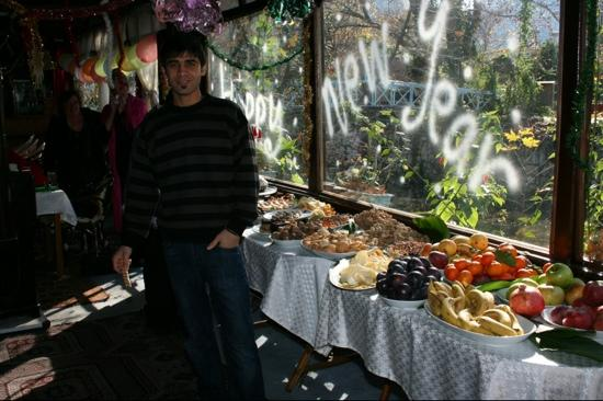 Adrasan, Turkey: This spread was for after lunch!!