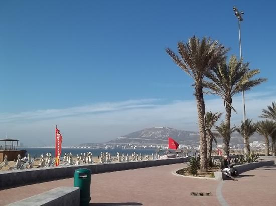 Agadir, Morocco: American style