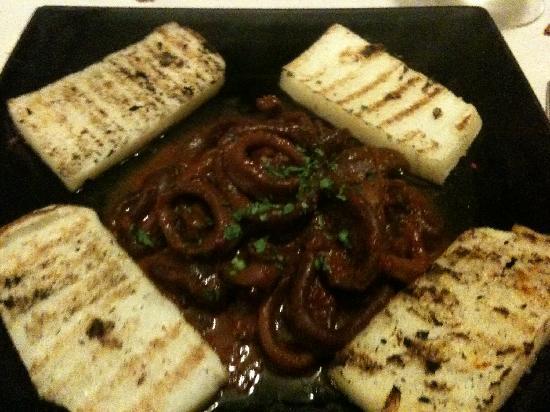 Taverna Ciardi: Calamari alla bùsara