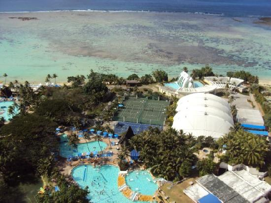 Pacific Islands Club Guam : view from my balcony