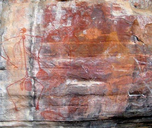 Ubirr : Example of Rock Art