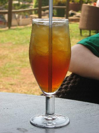 Hotel Le Petit Village: the most famous ice tea of the world