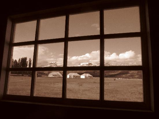 Estancia Cristina Lodge: view from the Museum
