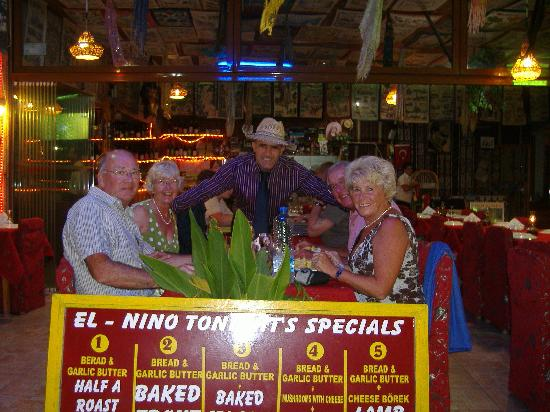 El Nino Restaurant & Bar: El Nino welcomes our Family!