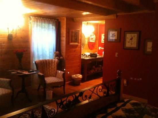 Good Timber Bed and Breakfast : buffalo run room- huge suite!