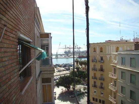 Hotel Alameda Malaga : View to the left