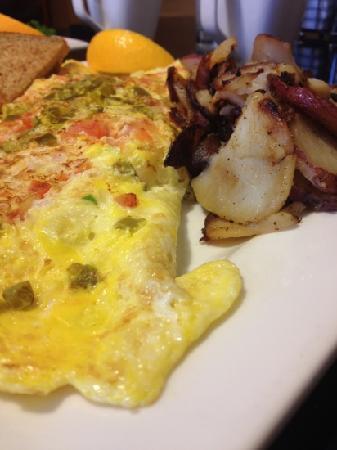 Keke's Breakfast Cafe: Southwest omelet
