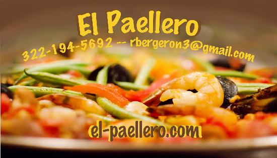 El Paellero: Our business card