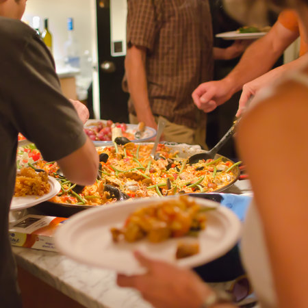El Paellero: Home paella catering is our specialty!