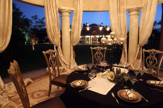 Palais Majuba: Le jardin