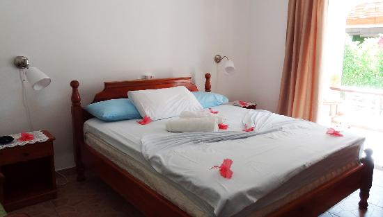 Pension Hibiscus: Comfortable bed