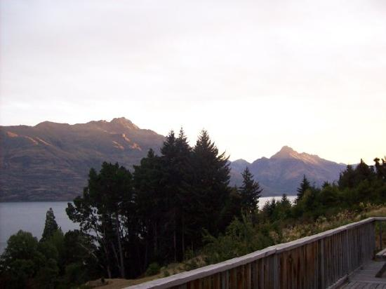 Butterfli Lodge : Gorgeous view from the decking