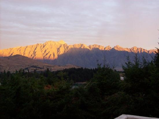 Butterfli Lodge : Amazing sunset views from decking