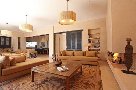 Villa Malekis : Le salon