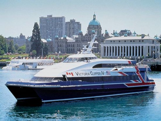 Taking a day trip from Seattle to Victoria, British Columbia, in Canada has never been easier, or more beautiful. Take a day trip to explore the beautiful town of Victoria on the Victoria Clipper, leaving from downtown Seattle.