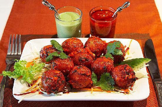Nawab Authentic Indian Cuisine & Banquet Hall: Garlic Veg Balls - Our #1 Appetizer