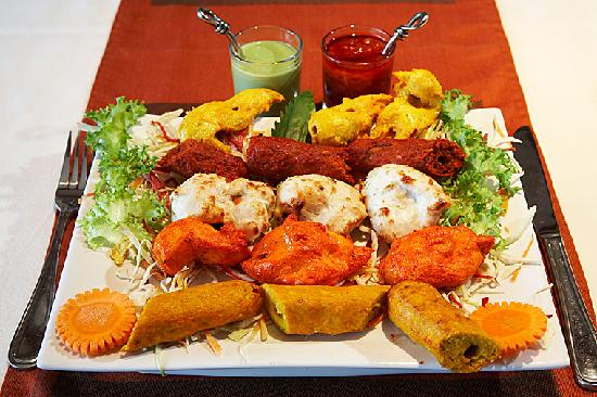 Nawab Authentic Indian Cuisine & Banquet Hall: Mixed Grill Platter