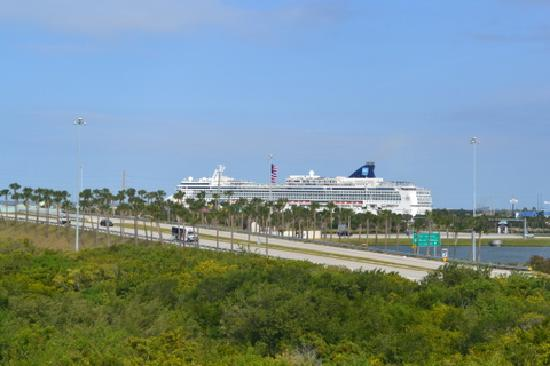 Country Inn & Suites By Carlson, Port Canaveral: pic taken from window of hotel
