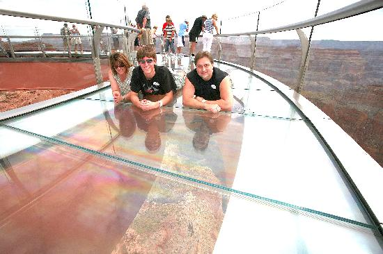Westwind Air Service: Taylor Family on the Skywalk