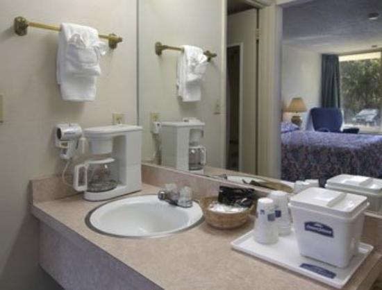 Budget Inn of DeLand: Restroom