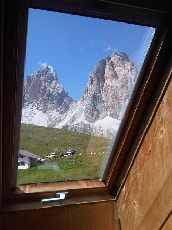 Rifugio Carlo Valentini: La vista dalla mia stanza