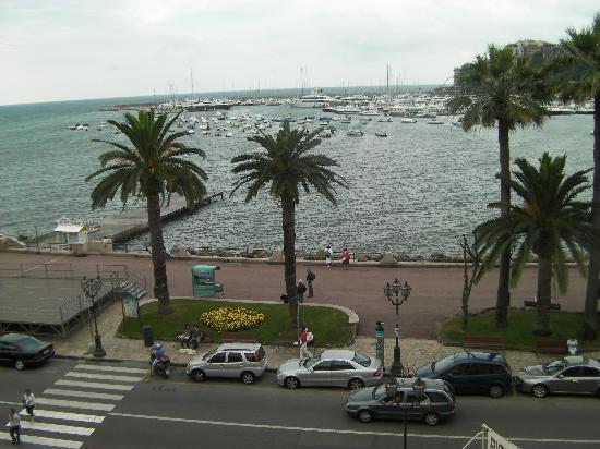 Hotel Miramare: vue depuis notre chambre