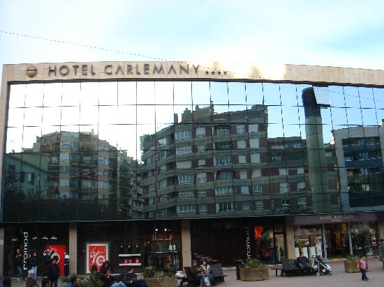 Hotel Carlemany: fronte hotel