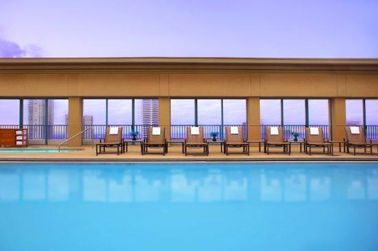 Hyatt Regency Jacksonville Riverfront: Rooftop Pool