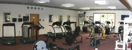 Cabot Inn & Suites: On Site Health Club