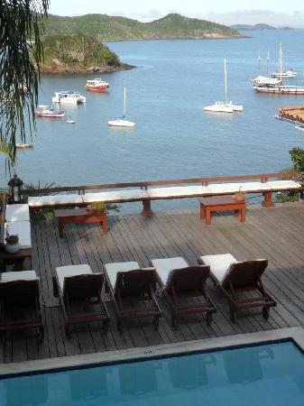 Vila d'este: swimming pool and terrace