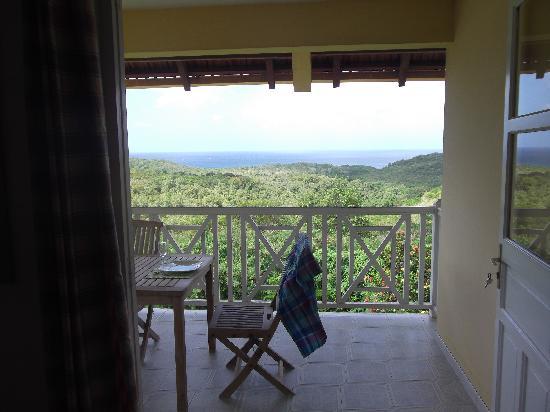 Domaine de l'Anse Ramier : terrasse
